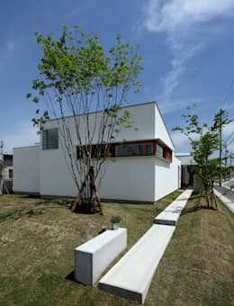 松原建築計画 / Matsubara Architect Design Office: iskandinav tarz tarz Evler