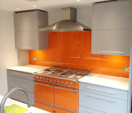 moderne Keuken door UK Splashbacks