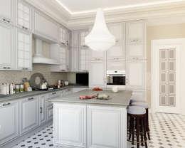 Кухня: Кухни в . Автор – Студия Искандарова