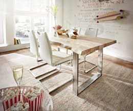 eclectic Dining room by DELIFE
