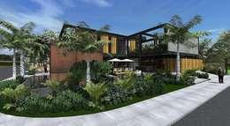 Casa LS: Casas modernas por ZAAV Arquitetura