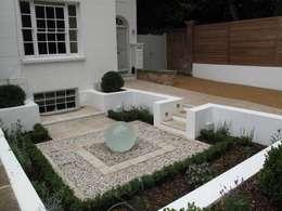 حديقة تنفيذ Cherry Mills Garden Design