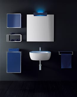 Baños de estilo minimalista por Vegni Design