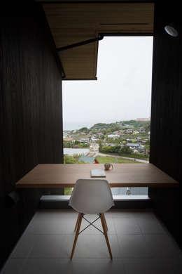Tei 読書デッキ: キリコ設計事務所が手掛けたベランダです。