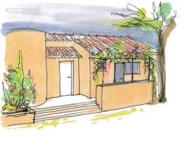 Terrazas de estilo  por Atelier RnB