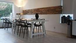 'Wheels' • Residential • Netherlands: moderne Woonkamer door Wonderwall Studios