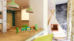 eclectic Nursery/kid's room by Apolonov Interiors
