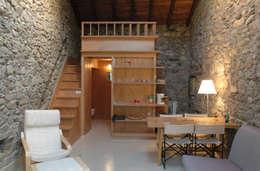 Livings de estilo moderno por Pini&Sträuli Architects