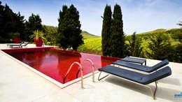 mediterraan Zwembad door Olympic Italia Costruzioni Piscine SPA - di Gabriele Lodato