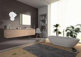 Baños de estilo moderno de krayms A&D - Fa&Fra