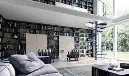 La libreria legno un classico rivisitato e multiuso - Mobilificio il sole ...
