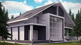 Rumah by студия визуализации и дизайна интерьера '3dm2'