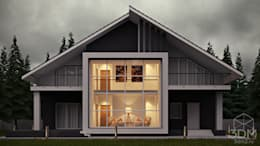 minimalistic Houses by студия визуализации и дизайна интерьера '3dm2'