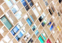 Salas de estilo minimalista por dontDIY