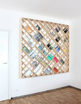 Salas de estilo moderno por dontDIY