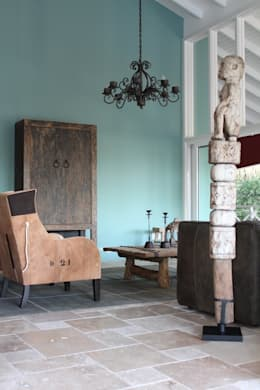 country Living room by Alex Janmaat Antiek & Interieur