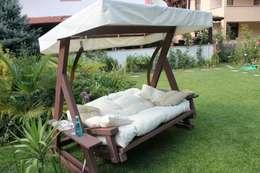 Projekty,  Ogród zaprojektowane przez ASM GRUP bahçe mobilyaları ve ahşap uygulamaları