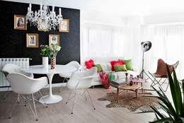industrial Living room by Disak Studio