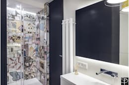 Wnętrze z Banksym: styl , w kategorii Łazienka zaprojektowany przez Studio Potorska