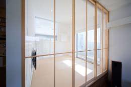 Zig Zag 和室: キリコ設計事務所が手掛けた和室です。
