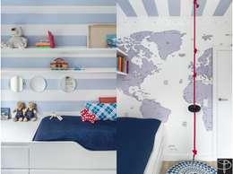 Wnętrze z Banksym: styl , w kategorii Pokój dziecięcy zaprojektowany przez Studio Potorska