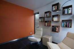 modern Study/office by KleurInKleur interieur & architectuur