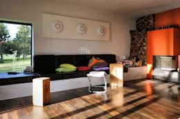 Salon de style de style Moderne par Architekten Lenzstrasse Dreizehn