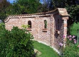 Mönch Nonne Halbschale Coppo Sardo: mediterraner Garten von Rimini Baustoffe GmbH