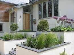 Jardines de estilo moderno por IJLA