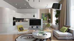 21: Гостиная в . Автор – студия визуализации и дизайна интерьера '3dm2'