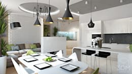 22: Столовые комнаты в . Автор – студия визуализации и дизайна интерьера '3dm2'
