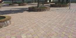 BAHÇE DEKOR Beton Bahçe Elemanları ve Gıda San. Tic. Ltd. Şti.의  벽 & 바닥