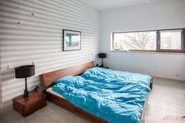 Sypialnia: styl , w kategorii Sypialnia zaprojektowany przez Atelier Słowiński