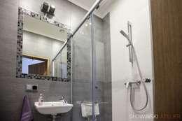 Łazienka gościnna: styl , w kategorii Łazienka zaprojektowany przez Atelier Słowiński