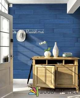 WoodMyWall – WoodMyWall Kendinden Yapışkanlı Duvar Kaplama Panelleri:  tarz Duvarlar