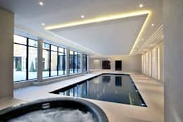 modern Pool by Flairlight Designs Ltd