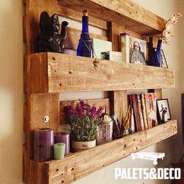 Hogar de estilo  por Palets&Deco