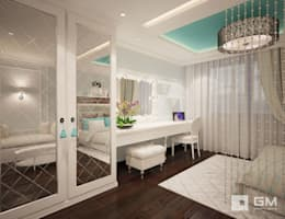 eclectic Bedroom by GM-interior
