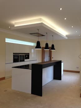 Кухня в . Автор – Roundhouse Architecture Ltd