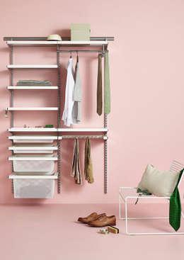 minimalistic Dressing room by Elfa Deutschland GmbH