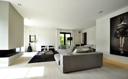 modern Living room by Building Design Architectuur