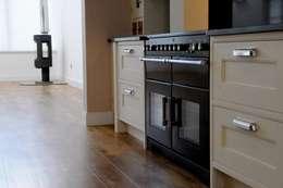 Projekty,  Kuchnia zaprojektowane przez Roundhouse Architecture Ltd