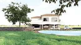 GÜNAY MİMARLIK – BAĞ EVİ: modern tarz Evler