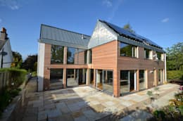 Maryville Passive House: modern Houses by Joseph Thurrott Architects