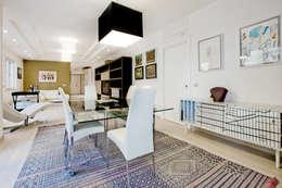 minimalistic Dining room by Emanuela Gallerani Architetto
