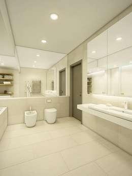 eclectic Bathroom by EVGENY BELYAEV DESIGN