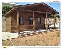 Casas de estilo rústico de YEŞEREN AHŞAP DEKORASYON