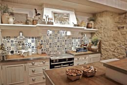 rustic Kitchen by URBANA 15