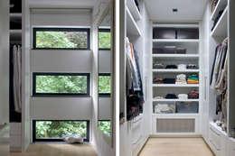 Villa Vught: moderne Kleedkamer door Doreth Eijkens | Interieur Architectuur