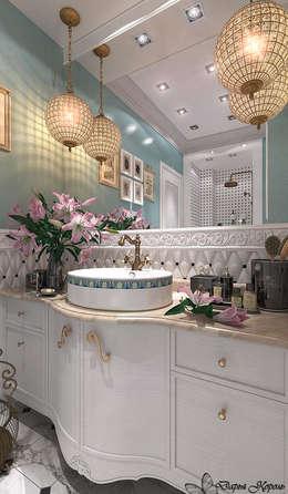 """Bathroom """"Provence"""": Ванные комнаты в . Автор – Your royal design"""
